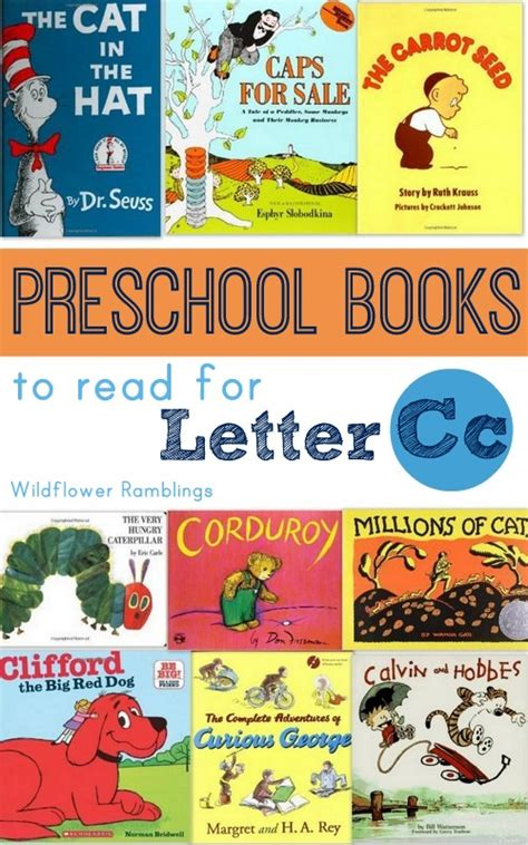 picture books for preschoolers best preschool books for the letter c wildflower ramblings