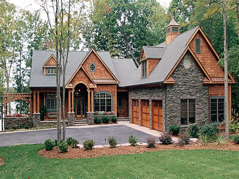 lake cabin house plans lake house plans with walkout basement craftsman house