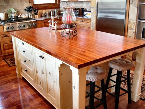 kitchen island butcher block tops mesquite custom wood countertops butcher block