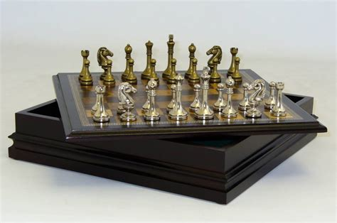metal set chess sets from the chess chess set store the mini