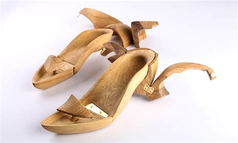 woodworking shoes hang it wooden shoes by tal weinreb
