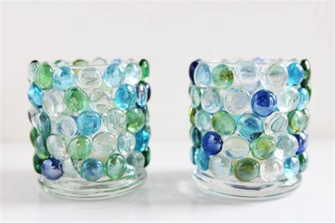 Glass Bead Candle Holders Dollar Store Crafts