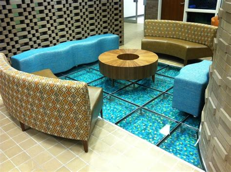 Floor And Decor Austin hand crafted glass floor looks like water by