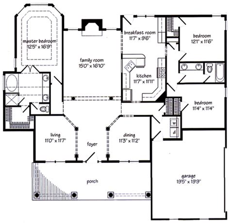 new home floorplans new albany cottage floor plans for new homes home