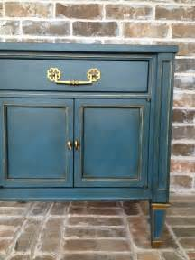 chalk paint gold sloan chalk paint in aubusson blue with gold gilding