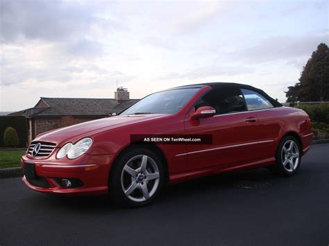 2005 Mercedes Clk500 by 2005 Mercedes Clk500 Base Convertible 2 Door 5 0l