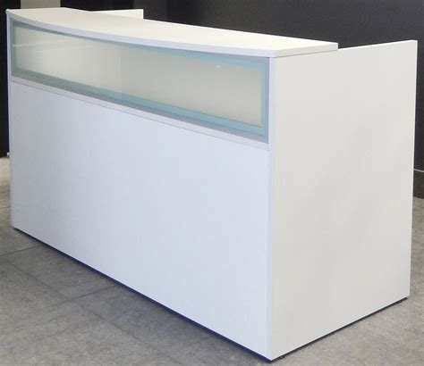 modern receptionist desk white salon reception desk