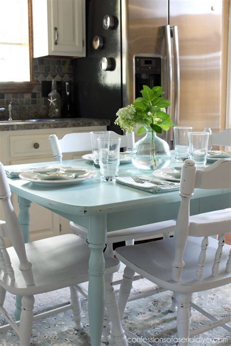 spray paint kitchen table how to paint a laminate kitchen table confessions of a