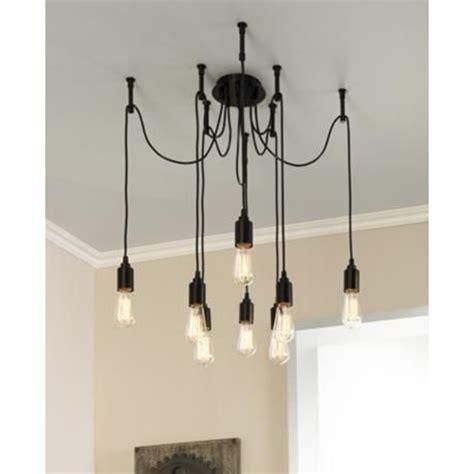 multi light pendant europa 1910 edison bulb bronze multi light pendant