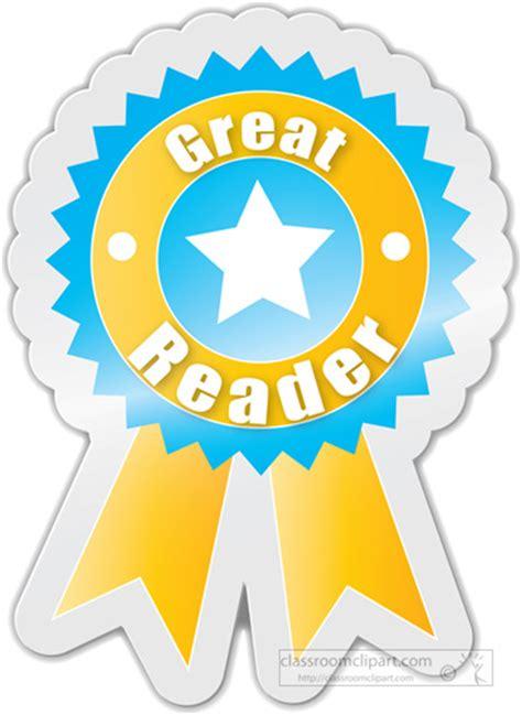 best reader motivational clipart great reader motivational award
