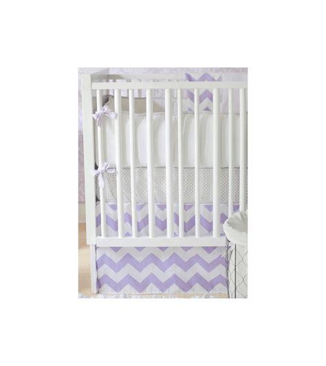 zig zag crib bedding set new arrivals zig zag lavender 4 baby crib bedding set