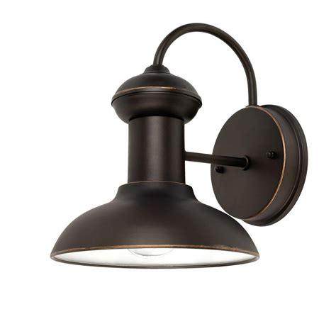 indoor outdoor lights globe electric martes 10 in rubbed bronze downward
