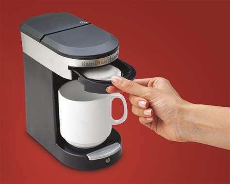 Amazon.com: Hamilton Beach 49970 Personal Cup One Cup Pod Brewer: Single Serve Brewing Machines