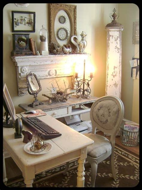 shabby chic home office decorate a home office shabby chic style rustic crafts