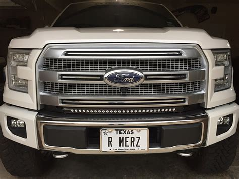led light bar f150 30 quot curved led light bar installed page 2 ford f150