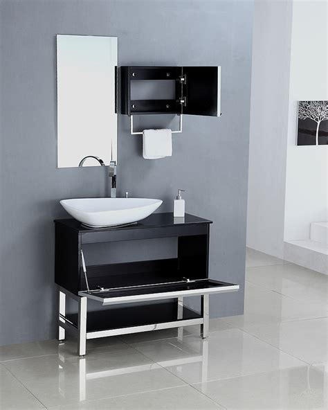 modern single bathroom vanities legion furniture modern 35 single sink bathroom vanity
