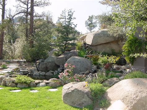 large landscaping boulders idea lanscaping rock landscaping deck
