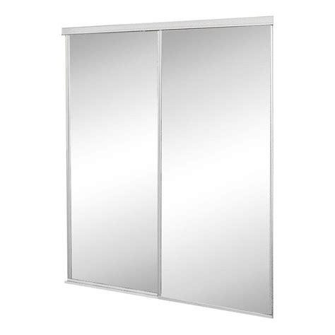 home depot closet doors sliding contractors wardrobe 48 in x 81 in concord mirrored
