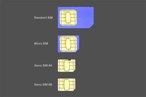 how to make sim card micro difference nano sim vs micro sim vs mini sim mobile tech