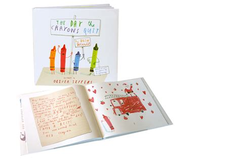crayon picture book the day the crayons quit book review to become