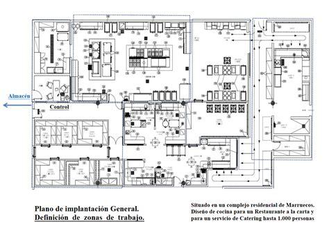 dise o planos plano cocina restaurante dise 241 os arquitect 243 nicos