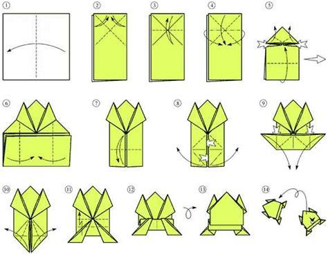 interesting origami interesting origami frog 2016