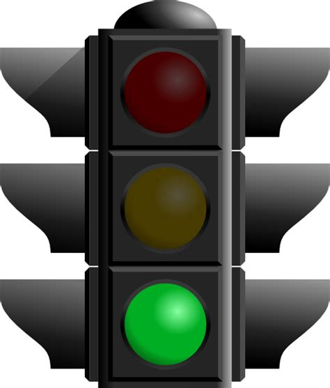 green light traffic light green clip at clker vector clip