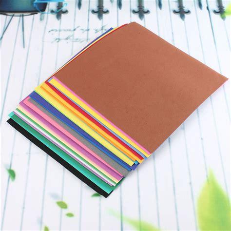 thick craft paper 24pcs lot newest 24color thick multicolor sponge foam