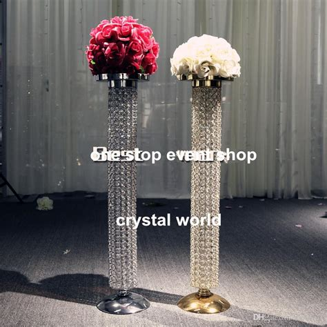 chandeliers centerpieces for weddings wedding decoration gold chandelier table