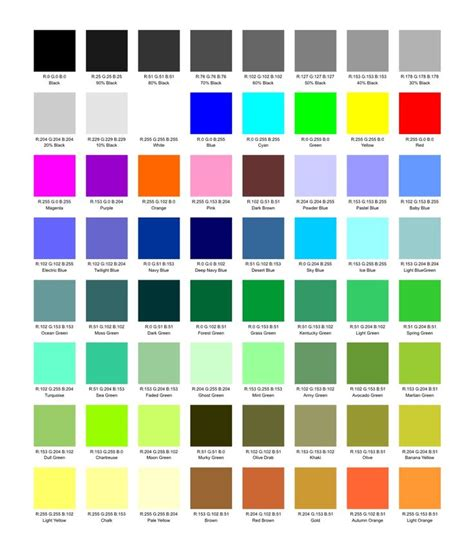 paint color names 38 best images about name that color on