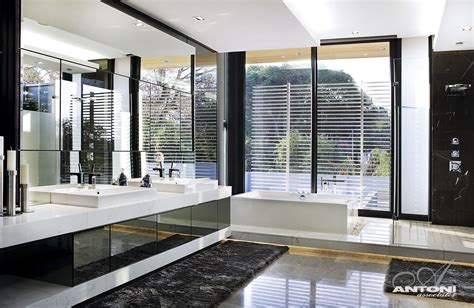 luxury bathroom designs modern mansion with interiors by saota