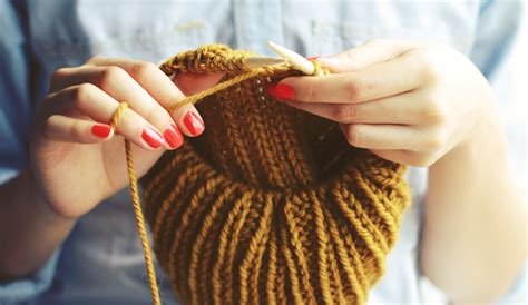 knitting on why bother knitting sheep and stitch