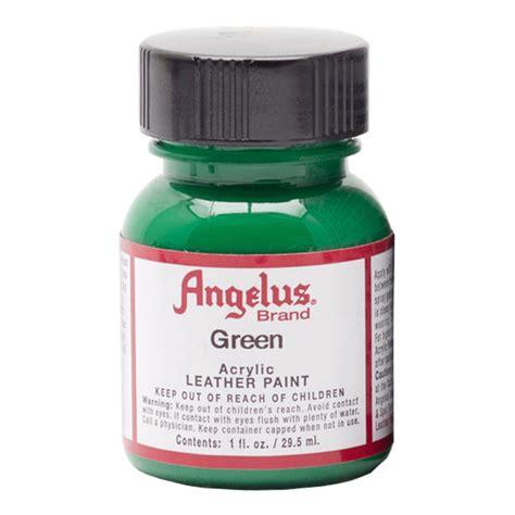 angelus paint green buy angelus leather paint 1 oz green