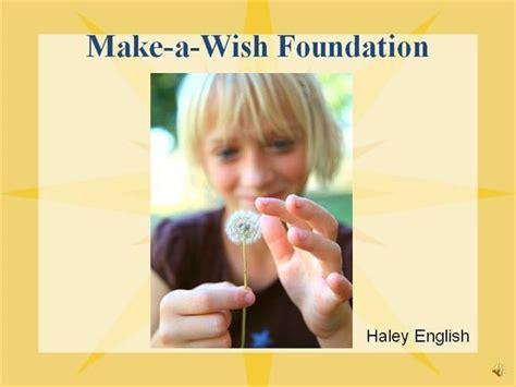 make a wish foundation cards make a wish foundation presentation ism 3004 authorstream