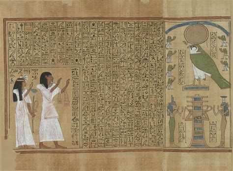 pictures of the book of the dead file book of the dead of hunefer sheet 1 jpg wikimedia