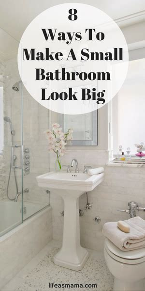How To Make A Small Bathroom Look Like A Spa by 10 Ways To Make A Small Bathroom Look Big Gt Gt Family