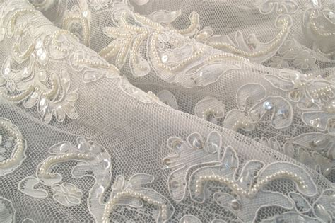 lace fabric buy ivory lace and tulle lace fabric sewing fabrics