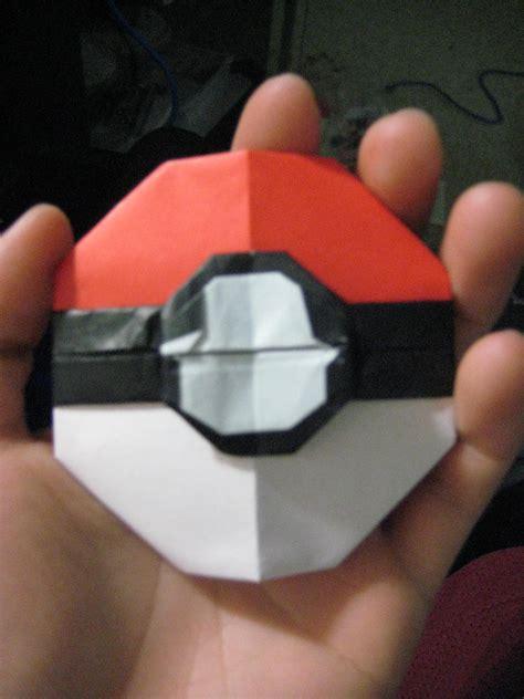 how to make a origami pokeball no pokeball by neko thief akio on deviantart