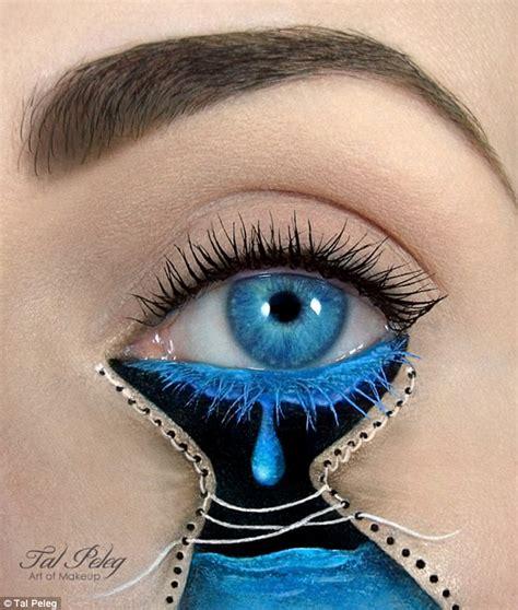eye designs make up artist tal peleg creates eye