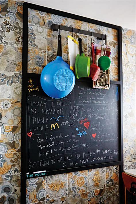 chalkboard paint singapore kitchen design ideas 5 ways to add a chalkboard home