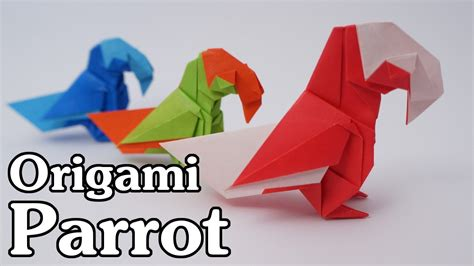 origami parrot origami parrot barth dunkan