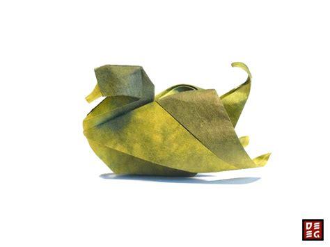 origami duck origami duck by origamikuenstler on deviantart