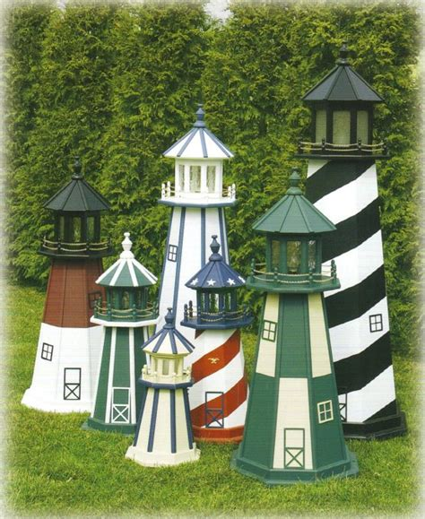 lawn decorations outdoors outdoor home center lawn decor lighthouses