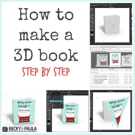 how to make picture book how to make a 3d book cover image free blogger2business