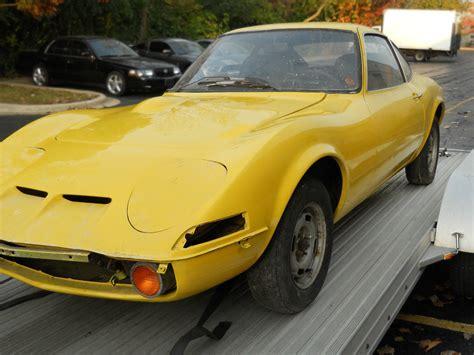 Opel Gt 1970 stored 20 years 1970 opel gt