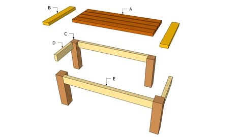 table woodworking plans free woodwork plans for outdoor wood tables pdf plans