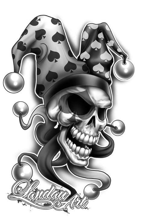 40  Best Clown Tattoo Designs