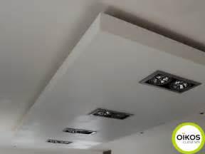 plafonds de cuisine faux plafond avec spots alu plafonds de cuisine faux plafond et spots