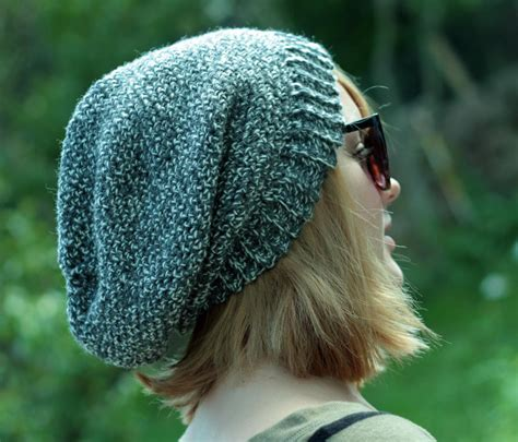 mens slouchy beanie knitting pattern free mens beanie patterns catalog of patterns