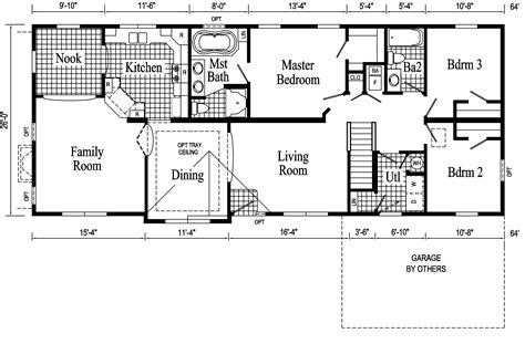 floor plans ranch and affordable living made possible by ranch floor